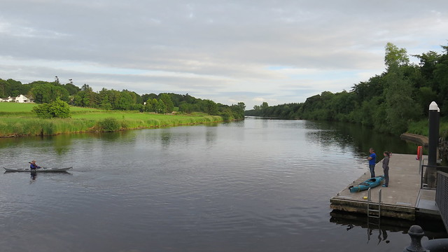 Rowing on the Bann