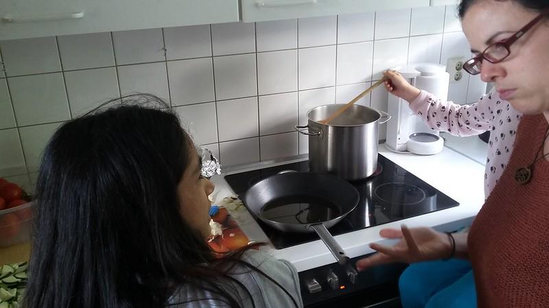 03. Tag (Di. 14.06) - EMCafe & kochen