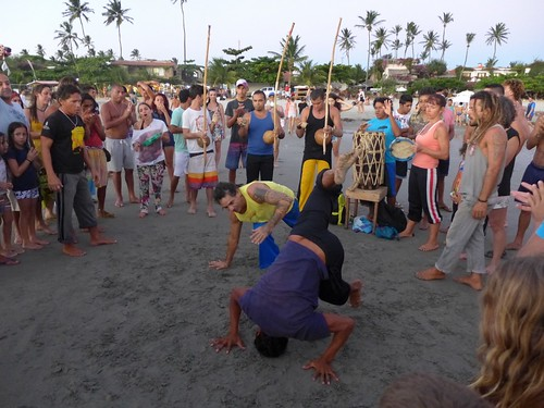 Capoeira a Jericoacoara