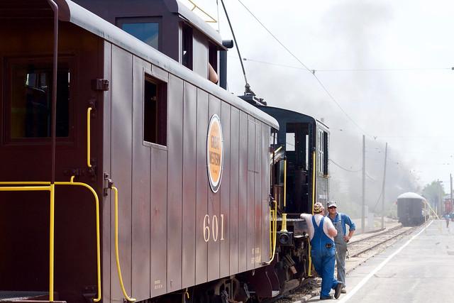 Caboose Train Preparing