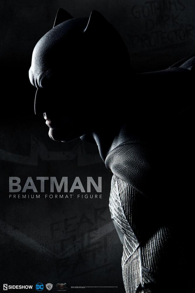 Sideshow Collectibles【蝙蝠俠】蝙蝠俠對超人:正義曙光 Batman 1/4 比例全身雕像