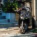 Parked Bike - Bangkok, Thailand.