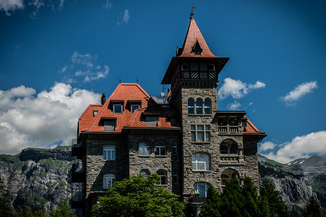 Ehemaliges Schloss-hotel