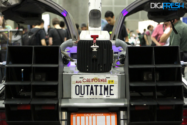 Back to the Future Delorean - 2