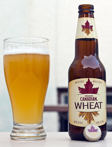 Review: Molson Canadian Wheat by Cody La Bière