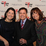 WFUV Gala 2013: Bob Costas with Gala Co-Chairs Claire Sheridan and Jill Welter