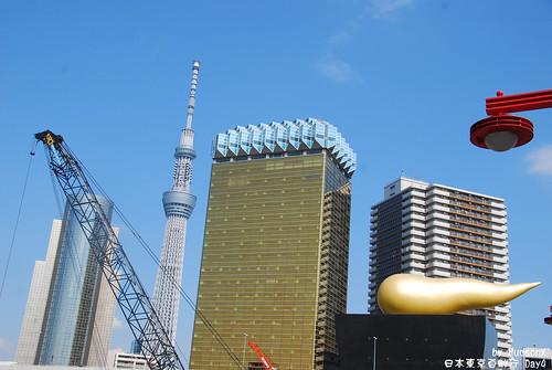 晴空塔也加入高樓群