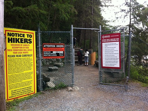 Start of the Grouse Grind