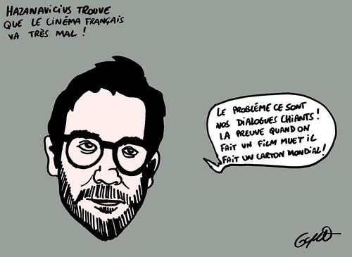 11_Hazanavicius critique le cinéma français