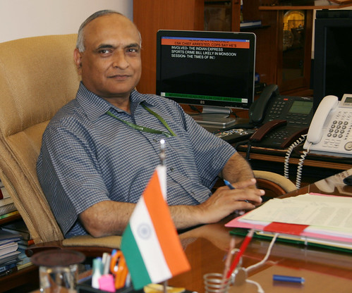 Shri R K Mathur assumed charge as Defence Secretary on Saturday, May 25, 2013 (2) by Chindits