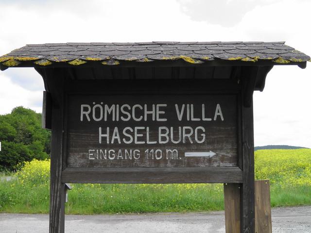 Römische Villa Haselburg, Hesse, Germany