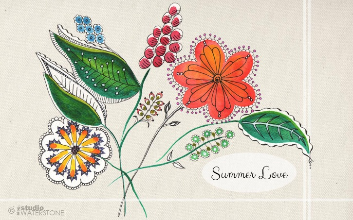 Summer Love Desktop Background 725
