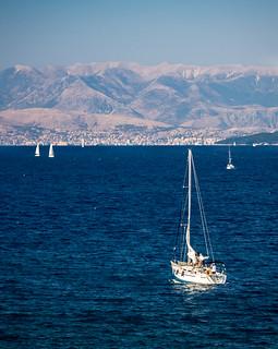Sailing to Sarandë