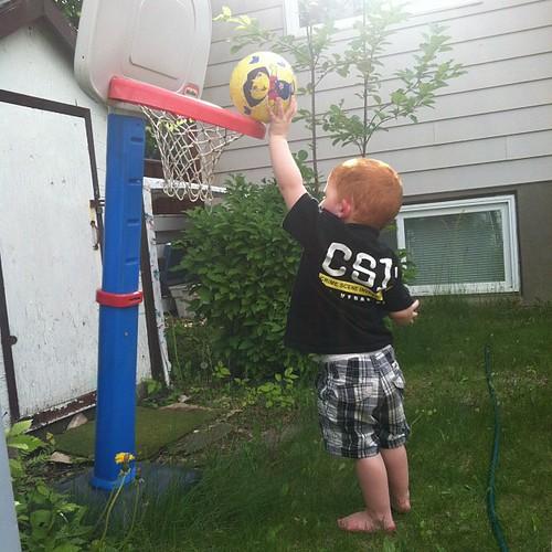 we need to raise that hoop