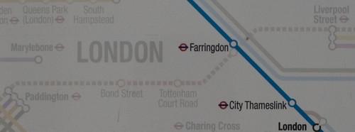 Crossrail appearing on rail maps