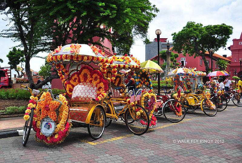 Colorful Sidecars, Malacca, Malaysia