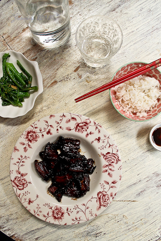 Caramelised Soy Pork