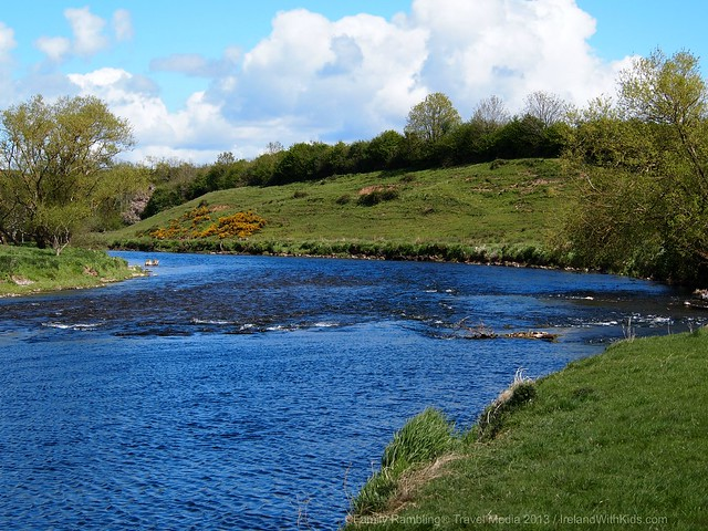 River Nore at Newtown Jerpoint, Kilkenny, Ireland