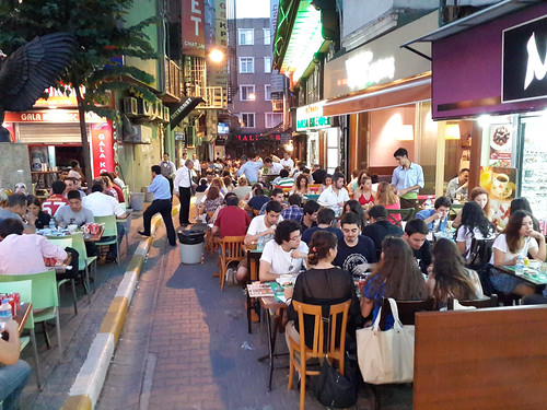 Ramadán utcai vacsora