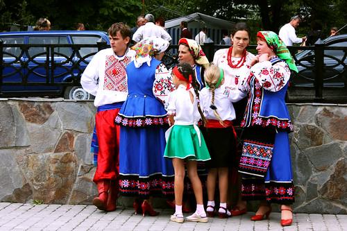 Fiestas en Yaremche
