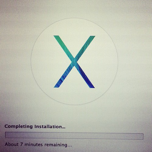 Installing dev preview 4 of osx...