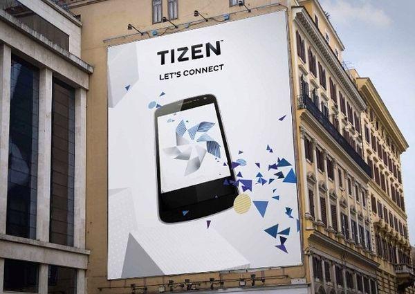 Первый смартфон Tizen