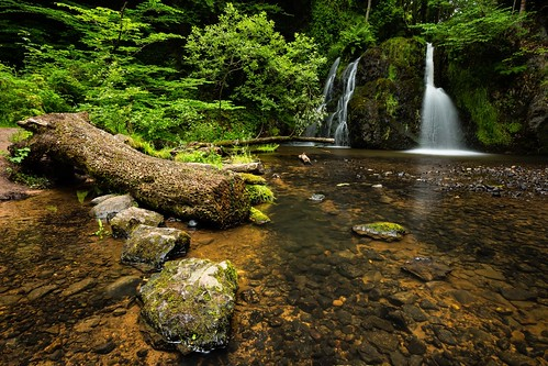 longexposure water landscape scotland waterfall highlands rosemarkie blackisle fairyglen