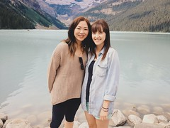 Gabi and Sam at Lake Louise