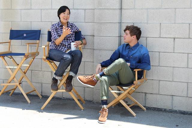 Adidas Neo Maxwell Runko Jenny Ho fall campaign shoot Los Angeles lisforlois