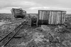 Broken track, Dungeness