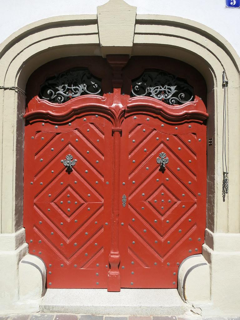 Magical door.