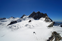 The Mountains Surrounds the Jungfrau