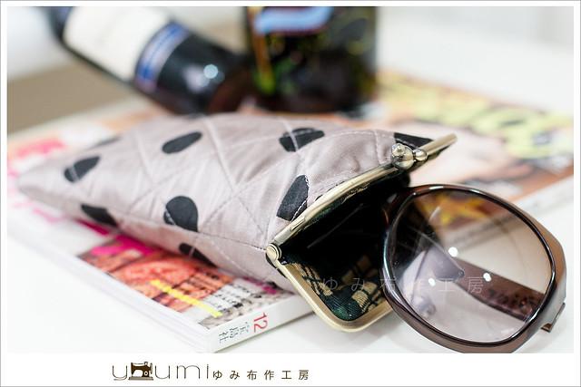 水玉眼鏡袋3