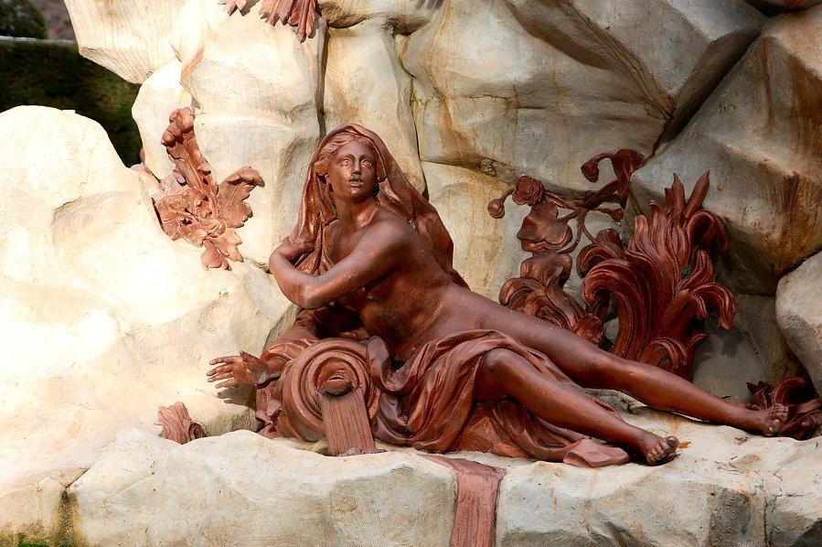 8. Detalle de la Fuente de La Fama. Autor, Druidabruxux