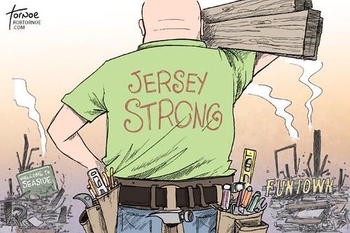 Jersey Strong - Rob Tornoe cartoon