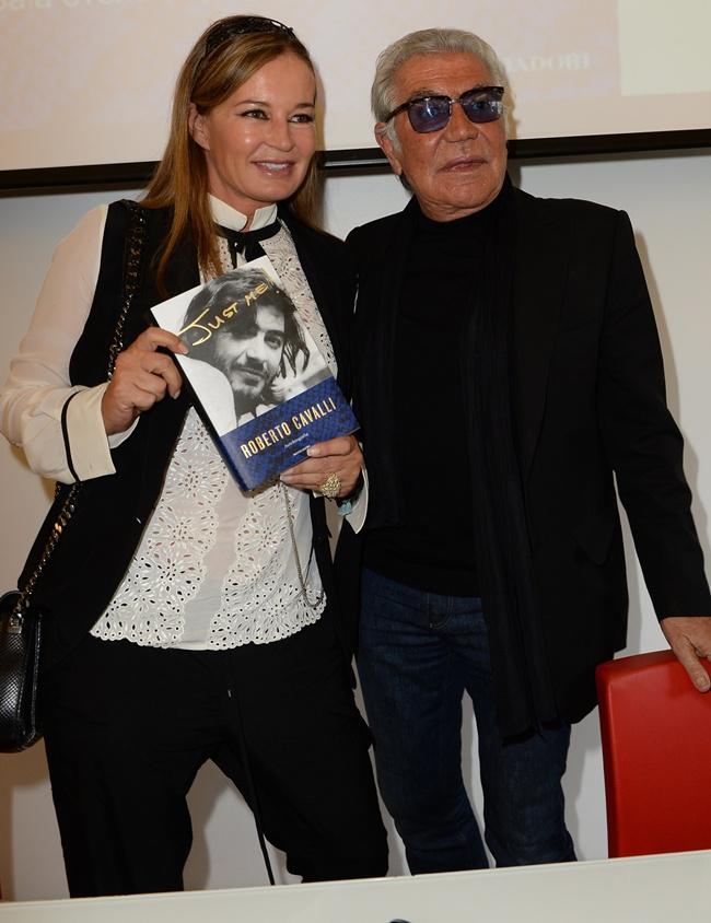 3 Eva and Roberto Cavalli@ the Just Me presentation  (2)