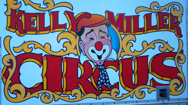 The Kelly Miller Circus came to Brookfield IL. for ONE day with two show