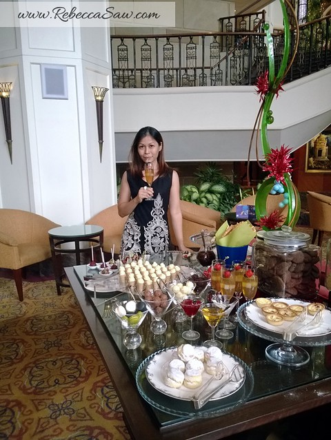 Afternoon Tea at Sheraton Imperial KL - Pavilions Lounge