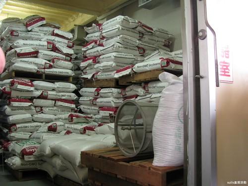 恆溫恆濕黃豆倉庫