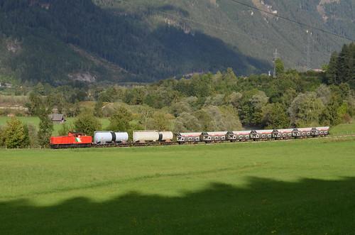18.09.2013 (XVI); Oostenrijk, dag 19, cargo op de Murtalbahn