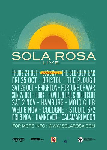 Sola Rosa Sound System EU Tour 2013