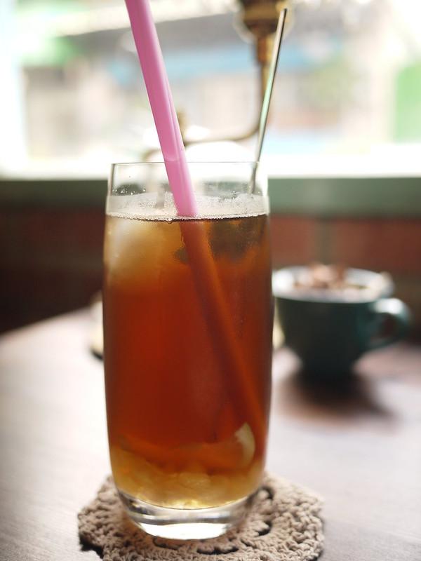 蘋果杏桃冰茶