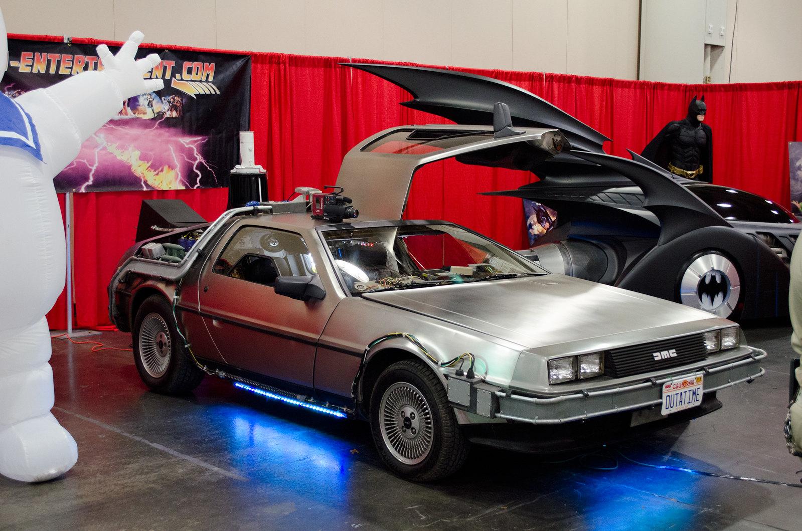 NYCC Back to the Future DeLorean