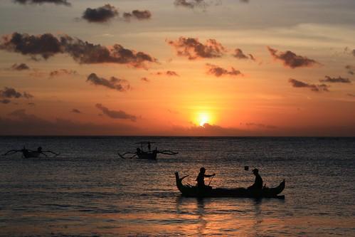 sundown in Bali