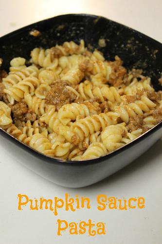 Pumpkin Sauce Pasta