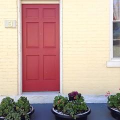 Found the cutest row houses with @roaringangelina in the Northside last week. #cincinnati (5/5)