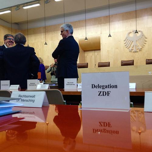 ZDF-Normenkontroll-Verhandlung; copyright 2013: Georg Berg