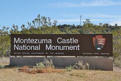 0U1A9226 Montezuma Castle National Monument entrance sign