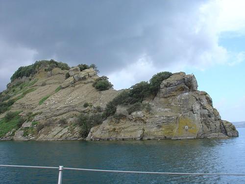 Bolsena See - Martanische Insel