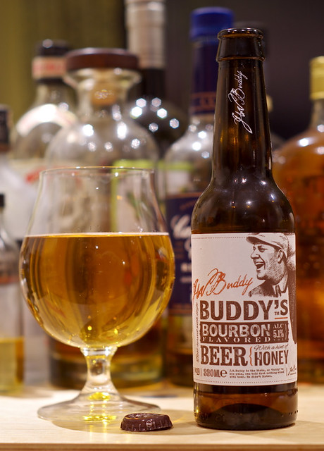 Buddy's Bourbon Flavored Beer with a hint of Honey No.19